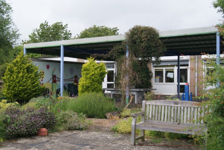 Garden at Haven Day Centre Bristol