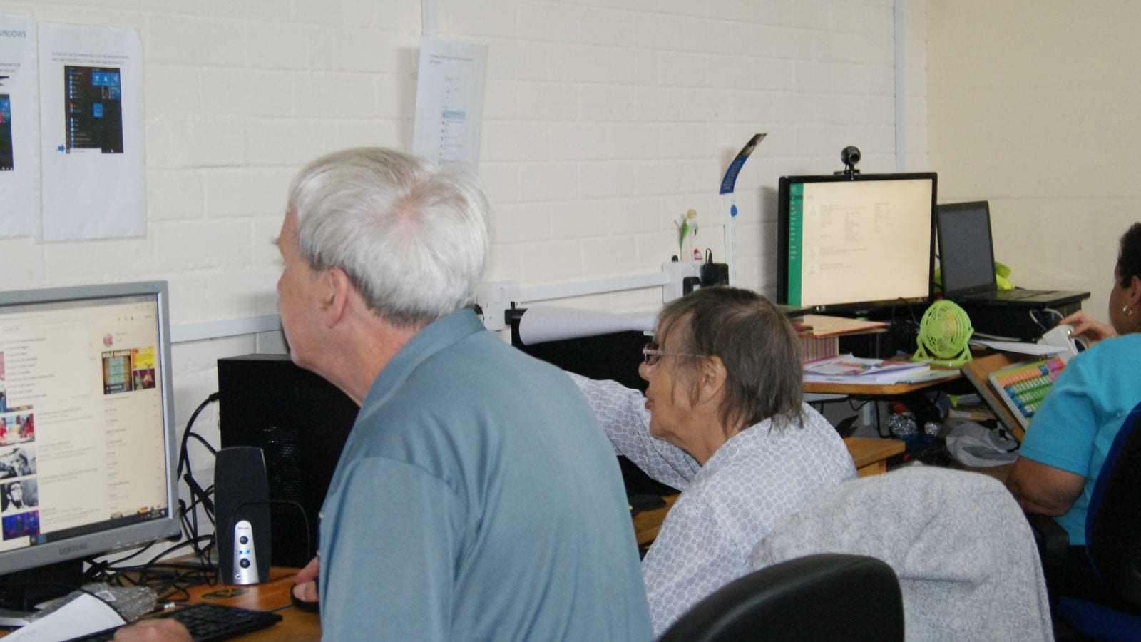 IT Suite at Haven Day Centre Bristol
